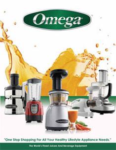 Omega Juicers Brochure 2011